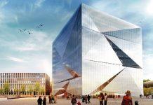 cube berlin. Visualisierung: CA Immo AG
