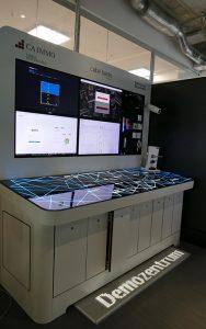 Im Demozentrum der RWTH Aachen wird das Zusammenspiel der verschiedenen Digitalisierungsbausteine getestet. Foto: CA Immo