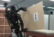 Roboter als Bauarbeiter