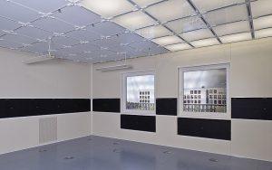 Das Raumlabor für ganzheitliche Wirkungsforschung (High Performance Indoor Environmental Lab) am Fraunhofer-Institut für Bauphysik IBP in Stuttgart. Foto: Fraunhofer IBP