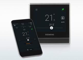 Smart Thermostat von Siemens. Foto: Siemens Schweiz AG