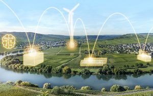 Für Alpiq zeigt das Batteriespeicher-Projekt mit der AG EW Maienfeld beispielhaft das Potenzial neuer Geschäftsmodelle in der sich wandelnden Energiewelt. Foto: zvg