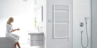 Nebst den funktionalen Vorteilen ist ein Badheizkörper auch ein optisches Element in einem Bad, ob im Neubau oder in der Sanierung. Foto: zvg