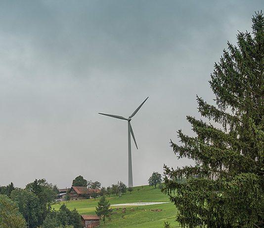 Windkraft in der Schweiz. Foto: Nils Kramer