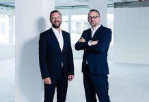 Die Inhaber der Hälg Group: Roger und Marcel Baumer.