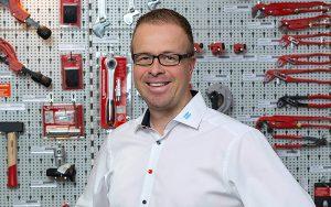 Heinz Bösiger, Leiter Marché Schweiz, freut sich über den neuen Standort in Bulle. Foto: zvg