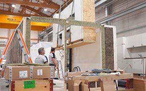 Die Module werden im Renggli-Werk in Schötz gefertigt. Fotos: zvg