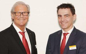 Geschäftsführer Richard Osterwalder und sein Nachfolger Thomas Rusch (rechts). Fotos: zvg