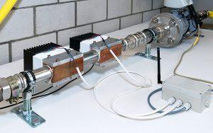 Das Überwachungssystem gewinnt die nötige Energie aus Temperaturunterschieden in der Umgebung. Foto: ZHAW