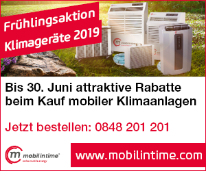 mobil in time – Frühlingsaktion – Klimageräte