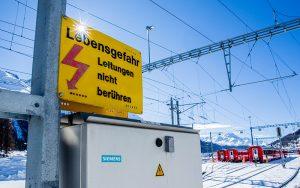 Siemens-Lösungen sorgen für zuverlässigen RhB-Bahnbetrieb. Foto: zvg