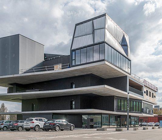 Das DFAB House ist die separate Wohneinheit rechts oben im NEST in Dübendorf.