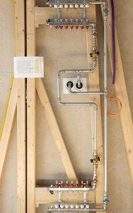 Therm-Control für die Einzelraumregelung von Fussbodenheizungen.