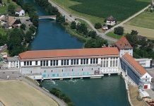 Wasserkraftwerk Gösgen. Foto: Alpiq