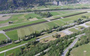 Die geplante Solarraupe im Wallis. Foto: zvg