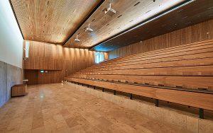 Das Auditorium. Foto: zvg