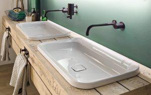 Unabhängige Untersuchungen bestätigen die Überlegenheit des Materials bei Reinigung und Pflege und kommen zum selben Ergebnis: Emaillierte Badlösungen sind besonders einfach, schnell und rückstandsfrei zu reinigen. Und dies ist natürlich von Vorteil, wenn grosser Wert auf die Hygiene gelegt wird. Foto: Kaldewei