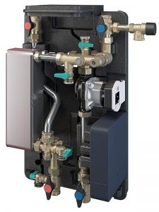 Hygiene on demand: die neuen Frischwasser-Stationen verfügen über ein einheitliches und einfaches Bedienkonzept. Foto: Oventrop