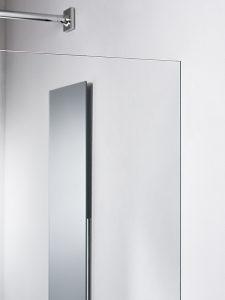 Einfach und nahtlos Die Befestigung einer Duschtrennwand sorgt immer wieder für Probleme. Geberit erleichtert dies durch das neuartige Installationselement. Dadurch fügt sich die Geberit Duschtrennwand nahtlos in die Planungs- und Montageabläufe des Vorwandsystems ein.