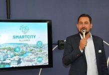 Initiator und Vorstandspräsident von SmartCity-Alliance: Enrico Baumann. Foto: zvg