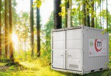 Ökologisches Heizen mit den neuen wassergeführten Pellmobilen von Mobil in Time. Foto: zvg