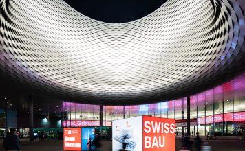 Swissbau 2020, Aussenansicht. Foto: MCH Group AG