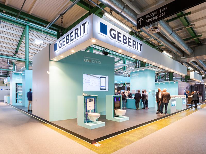 Eine für die Geberit Vertriebs AG eindrückliche, intensive und insbesondere auch sehr erfolgreiche Swissbau 2020 ist bereits wieder Geschichte.
