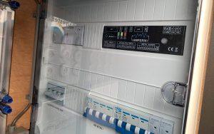Der Amperix ist das Energiemanagementsystem des Fraunhofer ITWM, myPowerGrid eine Plattform für Microgrids und Energiecommunitys. Foto: Fraunhofer ITWM