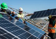 Montage Solarpanels