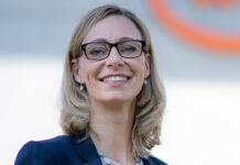 Cornelia Mellenberger (42) wird spätestens Mitte Februar 2022 neue CEO der ewb. Foto: ewb