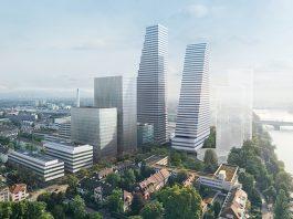 Roche Basel von Süd-Westen. Foto: zvg