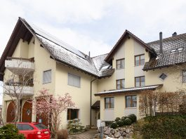 Kompakt und leistungsstark: die Hoval – Hybridheizung im Mehrfamilienhaus. Foto: Hoval Schweiz AG