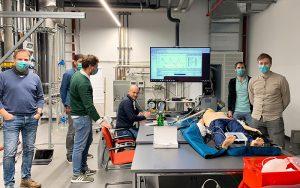 Das mobile Beatmungsgerät wurde intensiv in Zusammenarbeit mit Medizinern und Krankenhäusern getestet. Fotos: Viessmann Group