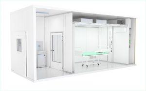 Die Versorgungseinheiten sind schlüsselfertige Komplettlösungen. Eine sogenannte «ICU» kann weltweit an jeden Ort transportiert werden, auch Selbstmontage ist möglich.