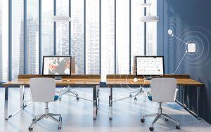Ein gesundes Raumklima sorgt für produktive Mitarbeiter. Foto: Airthings Healthy Building Solution