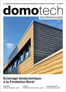 Le magazine professionnel romand – domotech
