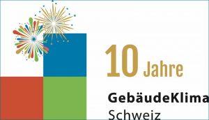 GebäudeKlima Schweiz feiert zehnjähriges Jubiläum