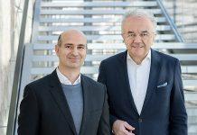 Werner Sobek und sein Nachfolger Prof. Dr. Lucio Blandini. Foto: René Müller