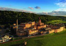 Historisches Areal der Brauerei Feldschlösschen aus der Vogelperspektive. Foto: Brauerei Feldschlösschen