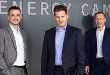 Die neue Geschäftsleitung mit Chris Knellwolf, Patrick Drack und Peter Waldburger (v. l.) ist bereit. Foto: Stiebel Eltron