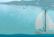 Zürich erhält Wärme aus dem See. Visualisierung: Energie 360