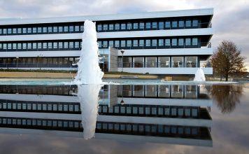 Der Hauptsitz von Grundfos in Bjerringbro. Foto: Grundfos