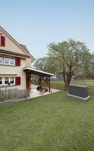 Mit nur 27dB(A) auf fünf Metern Entfernung bewahrt die Belaria pro die Ruhe im Garten.