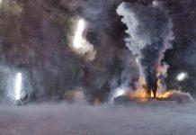 Was passiert, wenn ein Elektroauto in einem Strassentunnel oder in einer Tiefgarage Feuer fängt? Foto: Empa