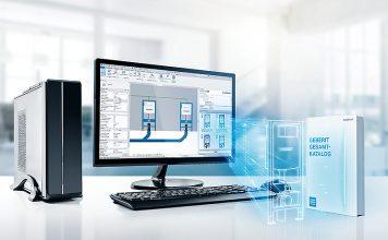 Mit dem neuen Geberit BIM Catalogue Plug-in für Autodesk Revit® können Planer nun direkt auf die BIM-Daten bei Geberit zugreifen. Foto: Geberit Vertriebs AG