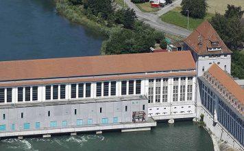 Die mittlere Jahresproduktion des Wasserkraftwerks Gösgen beträgt 300 Millionen kWh, was dem durchschnittlichen Jahresverbrauch von rund 75'000 Haushalten entspricht. Foto: Alpiq