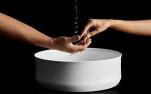 Stahl-Emaille ist zu 100 Prozent kreislauffähig und gehört zu den nachhaltigsten Materialien im Badezimmer.