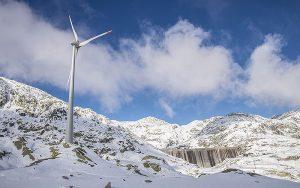 Der Gotthard-Windpark wurde am 15. Oktober offiziell eingeweiht. Foto: AET