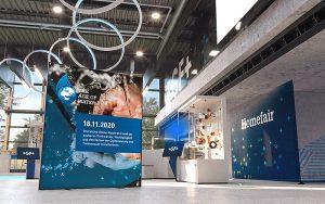 Am 18. November oder auch zu einem späteren Zeitpunkt können über den virtuellen, interaktiven Georg Fischer Campus Keynotes, Panel Diskussionen und interaktive Workshops zur Zukunft des Trinkwassers mitverfolgt werden. Foto: GF Piping Systems