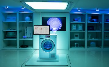 Künstliche Intelligenz hilft, eine zu hohe Belastung des Stromnetzes zu vermeiden, auch wenn viele stromintensive Geräte wie Wäschetrockner gleichzeitig eingeschaltet sind. Foto: Judith Wirth/iHomeLab